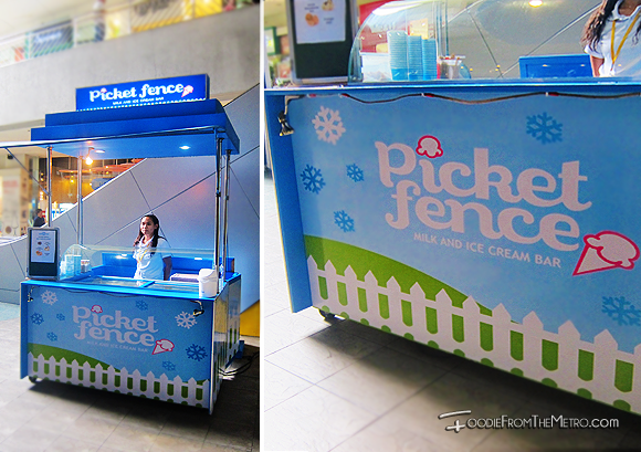 Foodie from the Metro - Picket Fence Milk Ice Cream Bar Kiosk SM MOA