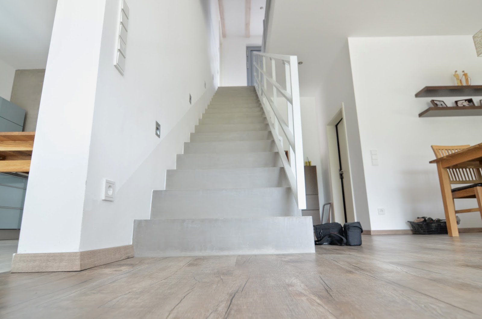 Betontreppe Innen beton cire oberflächen in beton look betontreppe l beton cire l