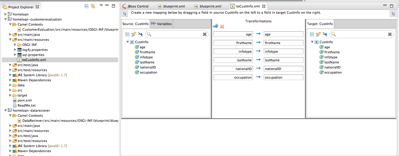 Red hat jboss fuse getting started home loan demo version 62 part data mapping tools with jaxb transformation translate one data formatxml into anotherpojo using jaxb malvernweather Gallery