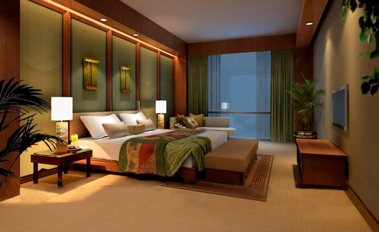 Creative landscape design services professional interior for Master bedroom