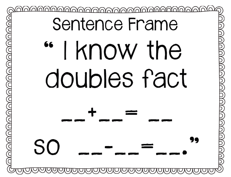Double Facts Worksheet Karibunicollies – Double Facts Worksheet
