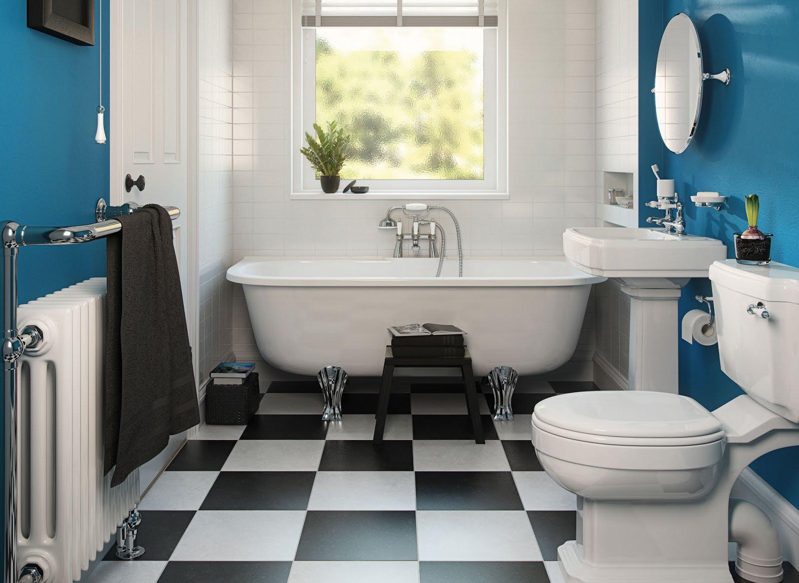 Azulejos de baños pintados, ¡renueva tu piso por poco dinero - Una ...