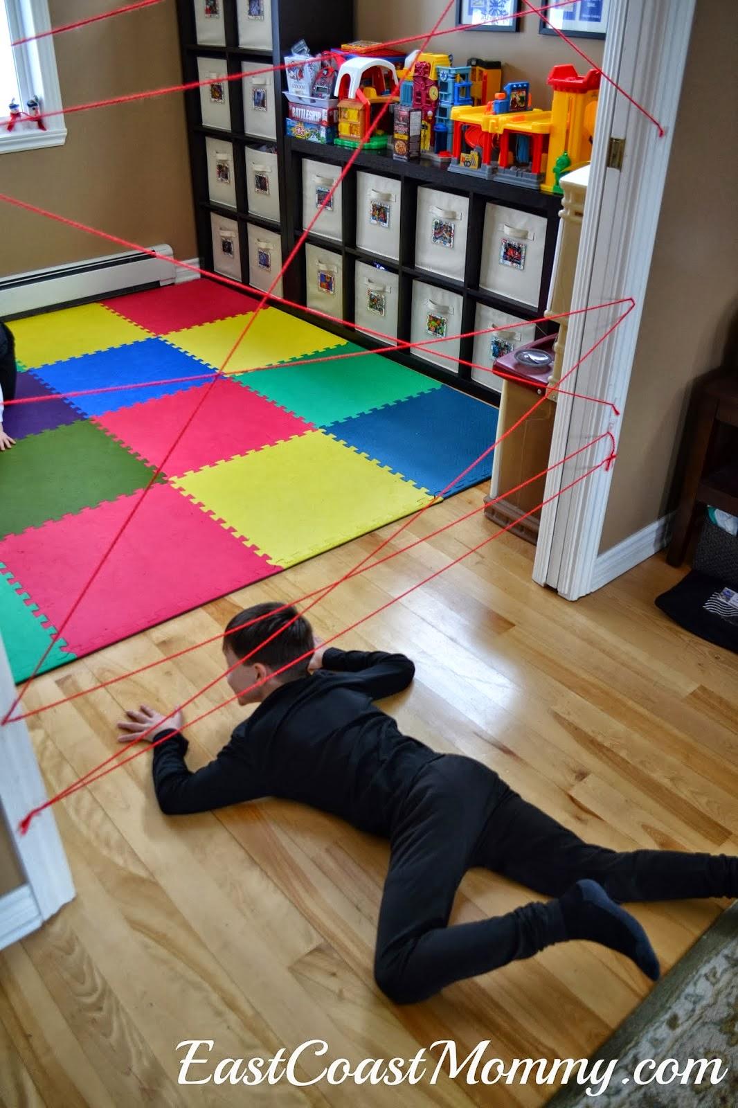 east coast mommy the ultimate diy spy party. Black Bedroom Furniture Sets. Home Design Ideas