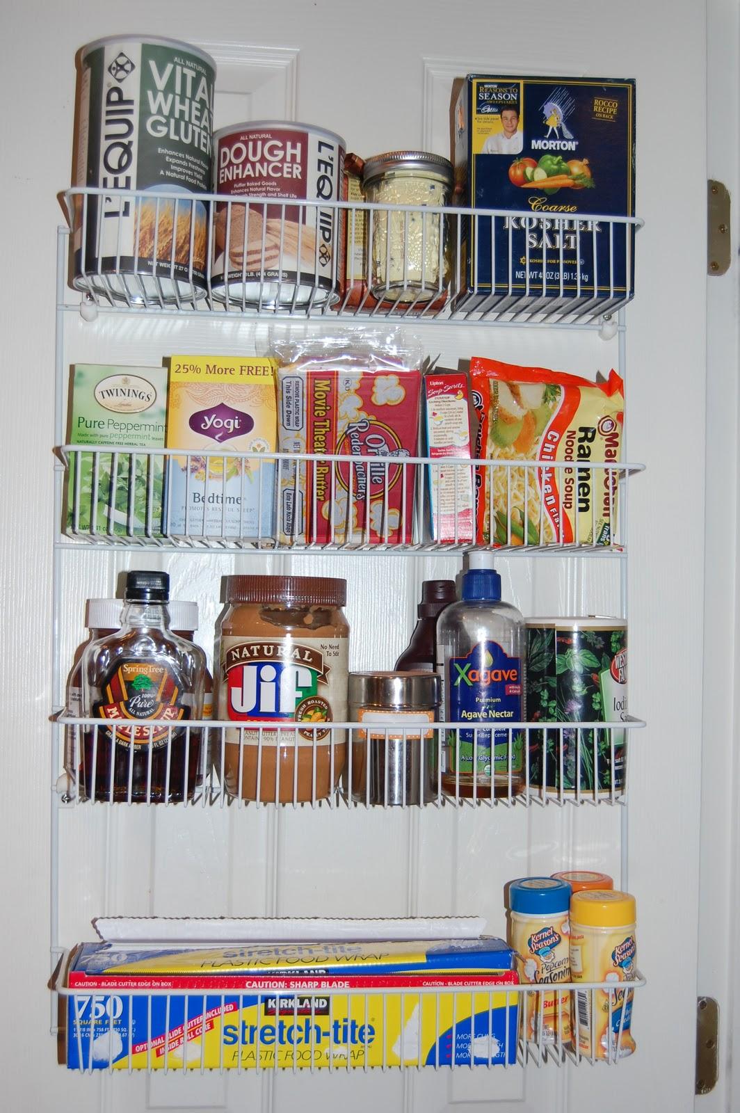 Kitchen Door Organizer On Love This Wire Pantry Door Organizer That Was  Already
