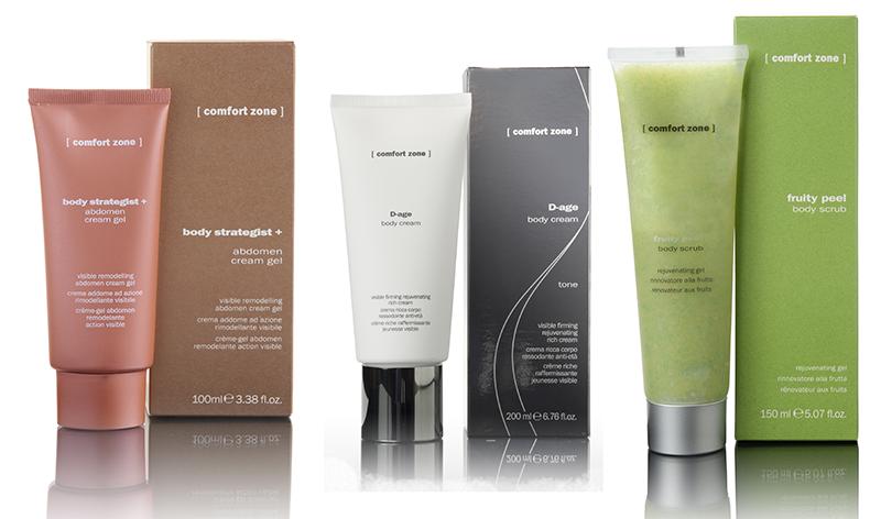 Body Strategist + Abdomen cream gel, D-Age Crema corpo rassodante antietà, Fruity Peel [ comfort zone ]