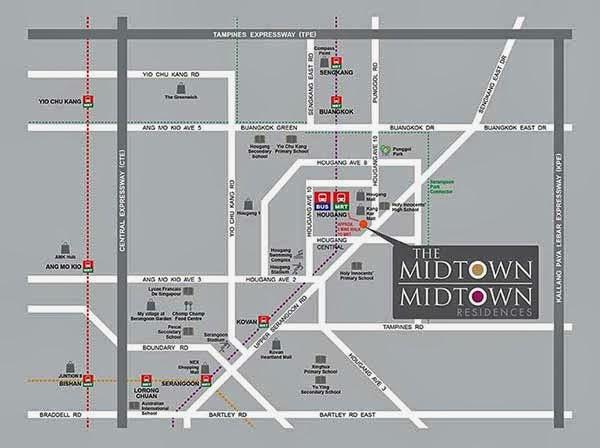 Midtown @ Hougag Location
