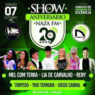 FESTA DA NAZA FM 29 ANOS
