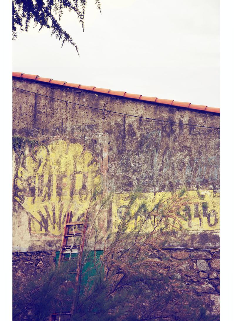 veille publicité shell, mur peint