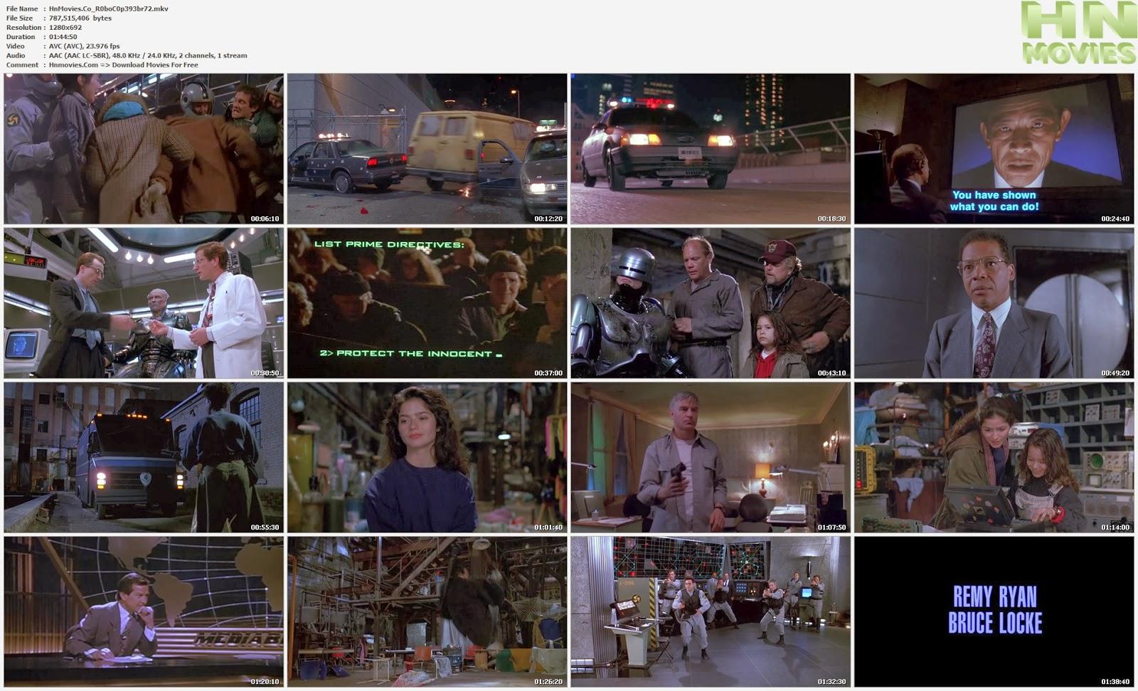 movie screenshot of RoboCop 3 fdmovie.com