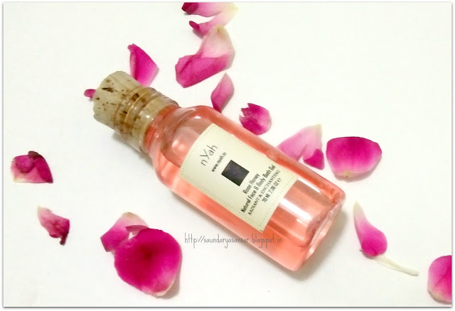 nYah Rose & Honey Natural Face & Body Gel
