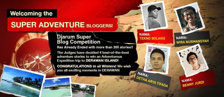 Djarum Super Adventure Blogger