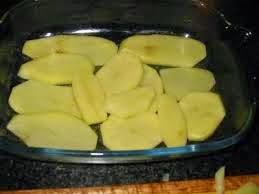 بطاطس مقشر