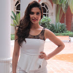 Deepika Padukone Looks Hot In White Short Dress At The Yamaha Scooter Launch