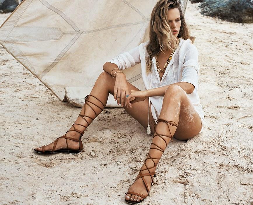 Black Lace up Sandals Mango Mango Lace-up Sandals