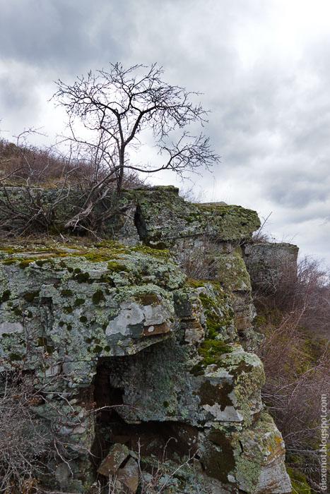 Скалы возле хутора Дубового
