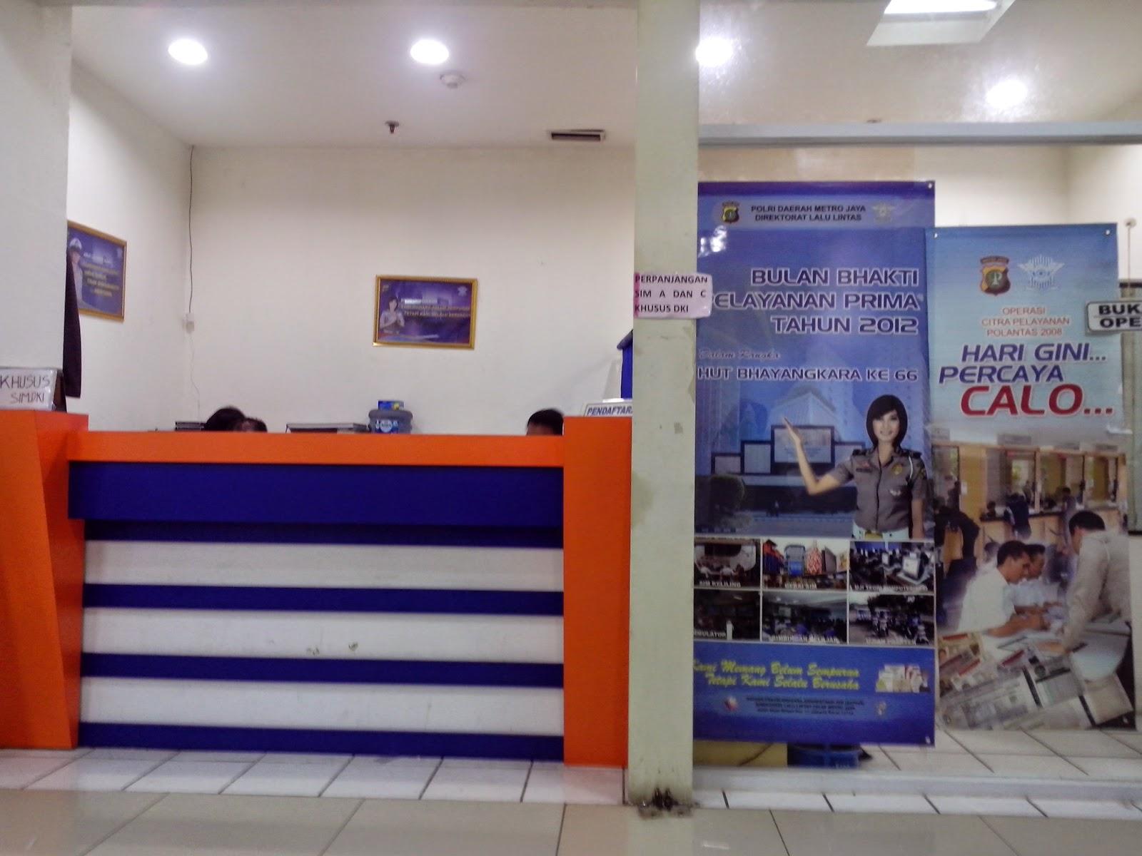 Perpanjangan SIM dan Pembayaran STNK Jakarta Timur