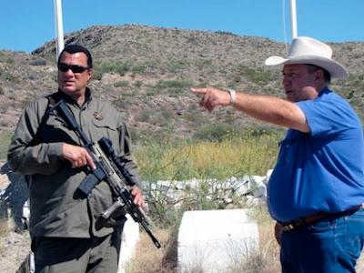 Steven Seagal jadi timbalan sherrif di bandar sempadan Texas