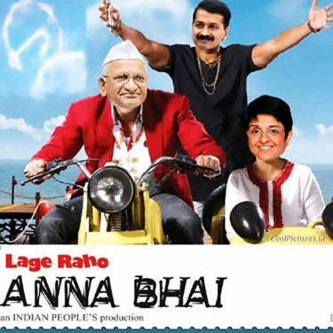 ... , QUOTES, INDIA FUNNY, BOLLYWOOD,: ANNA HAZARE AS MUNNA BHAI FUNNY