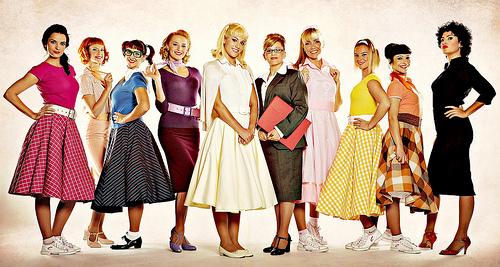 pinicando: Década de 50- História da Moda