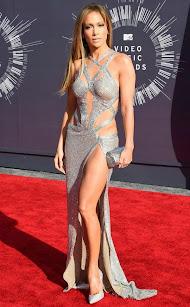 Jennifer Lopez en los premios MTV Awards 2014.