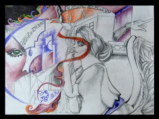 La mia arte sull'Arte (bisticcio di parole solo apparente) Nel-pensiero-della-dea