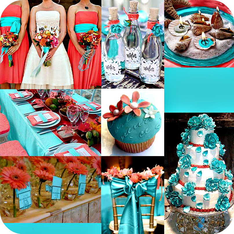 Matrimonio Tema Azzurro : Le nuove leccornie matrimonio impreziosito dal corallo