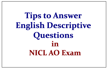 essay precis writing and comprehension for nicl