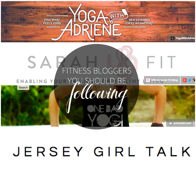 best fitness bloggers