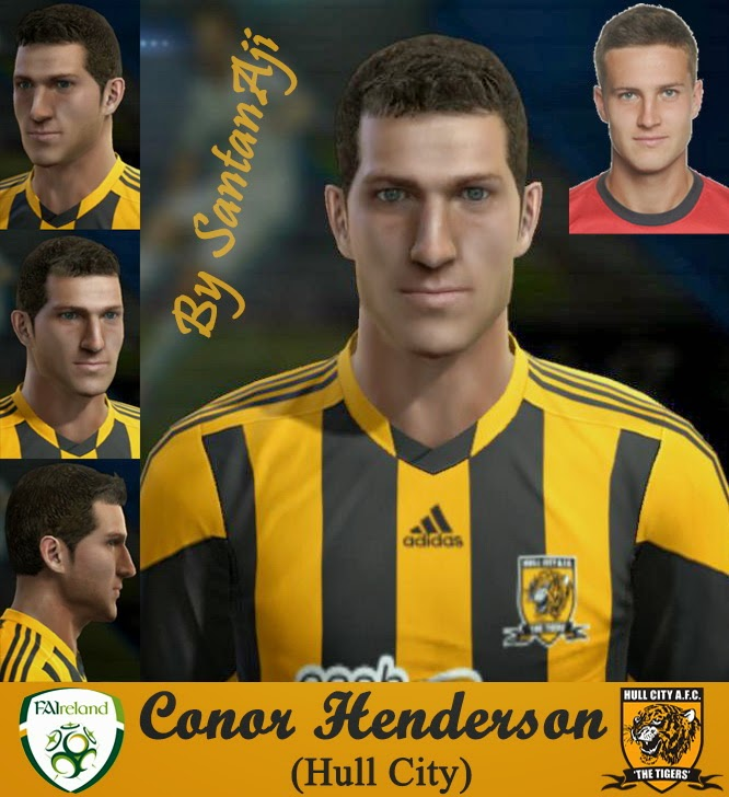 PES 2013 Conor Henderson Face by santanAji