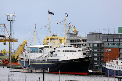The Royal Yacht Britannia, Edinbeurgh, U.K Airwolfhound
