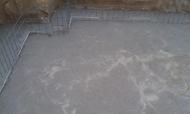 Home Construction Diaries Concrete Pouring For Basement Floor
