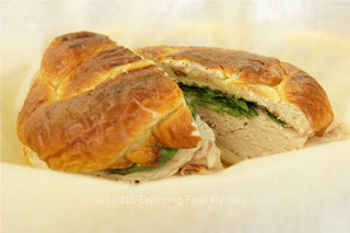 Roast Turkey Sandwich from Market Gourmet @ Montrose