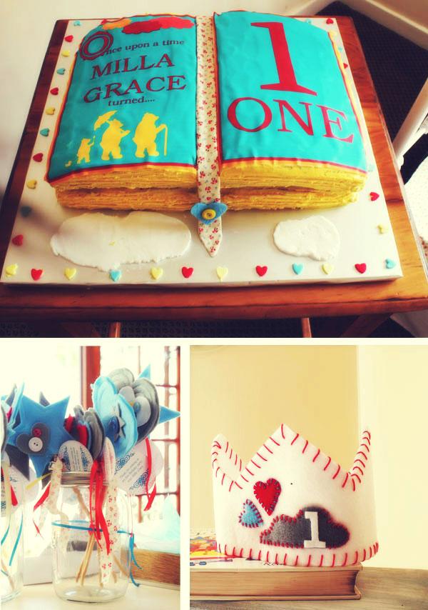 Thank You Open Book Cake Ideas