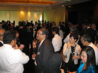 Guests at the foyer during cocktail