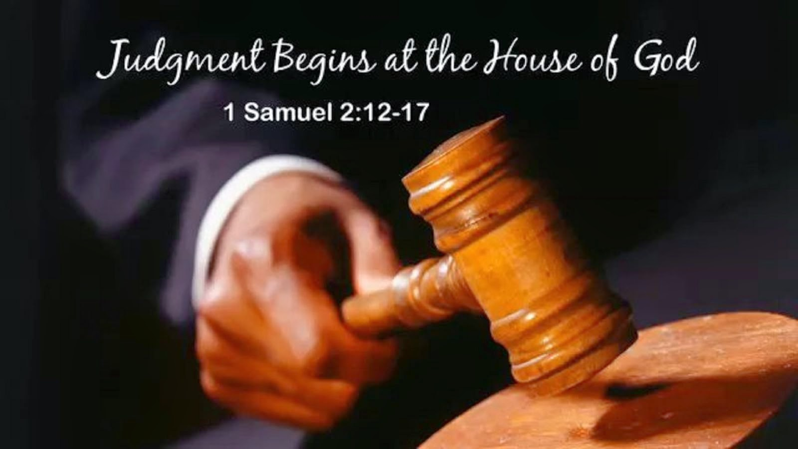 Image result for judgment begins house god  kjv