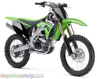 Harga Kawasaki KX250F Motor Terbaru 2012
