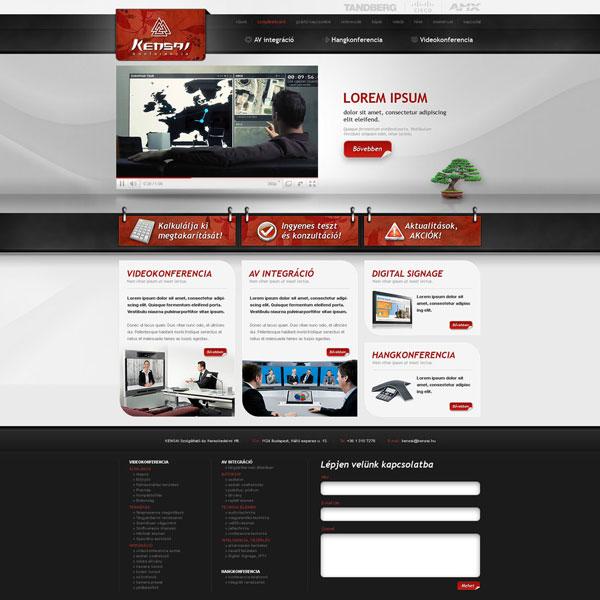 Kensai-web-design
