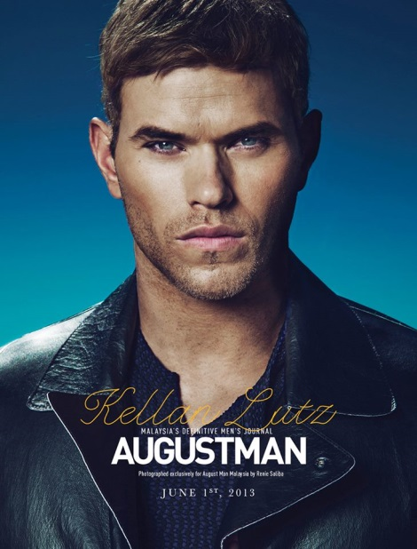 Kellan Lutz August Man Cover June 2013