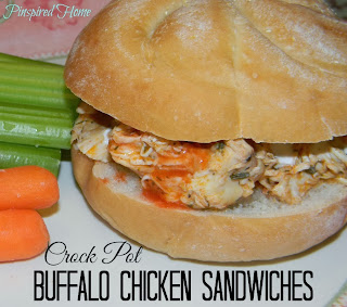 http://pinspiredhome.blogspot.com/2013/12/crock-pot-buffalo-chicken-sandwiches.html
