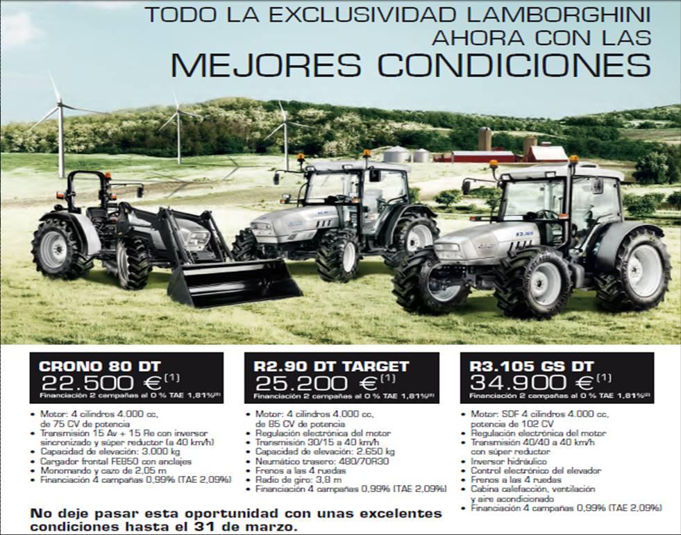 M s que m quinas agr colas precios y ofertas de tractores for Precios de futones nuevos