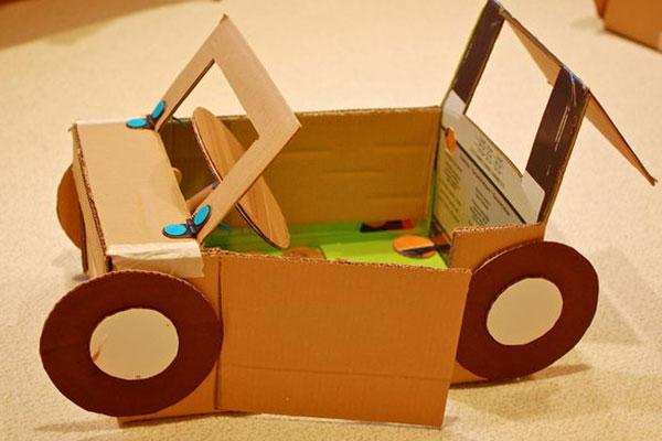 30 Ide Mainan Dari Kardus Untuk Merangsang Kreativitas Anak Anak