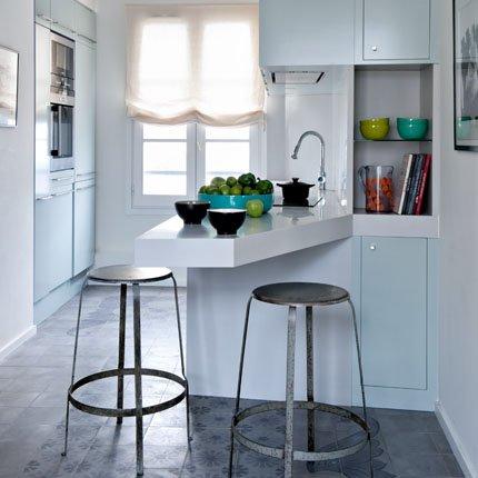50 m2 en paris ministry of deco for Cocina apartamento pequeno
