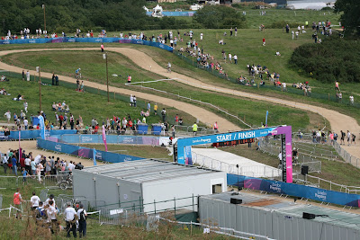 Hadleigh Farm Mountain bike Londres London 2012