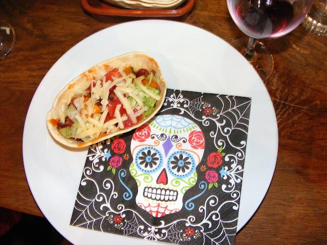 Taco, Dia de los muertos