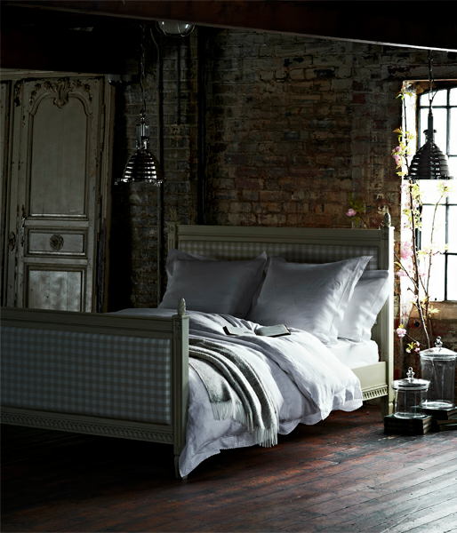"Dark Bedrooms in the July Issue of ""House and Garden"