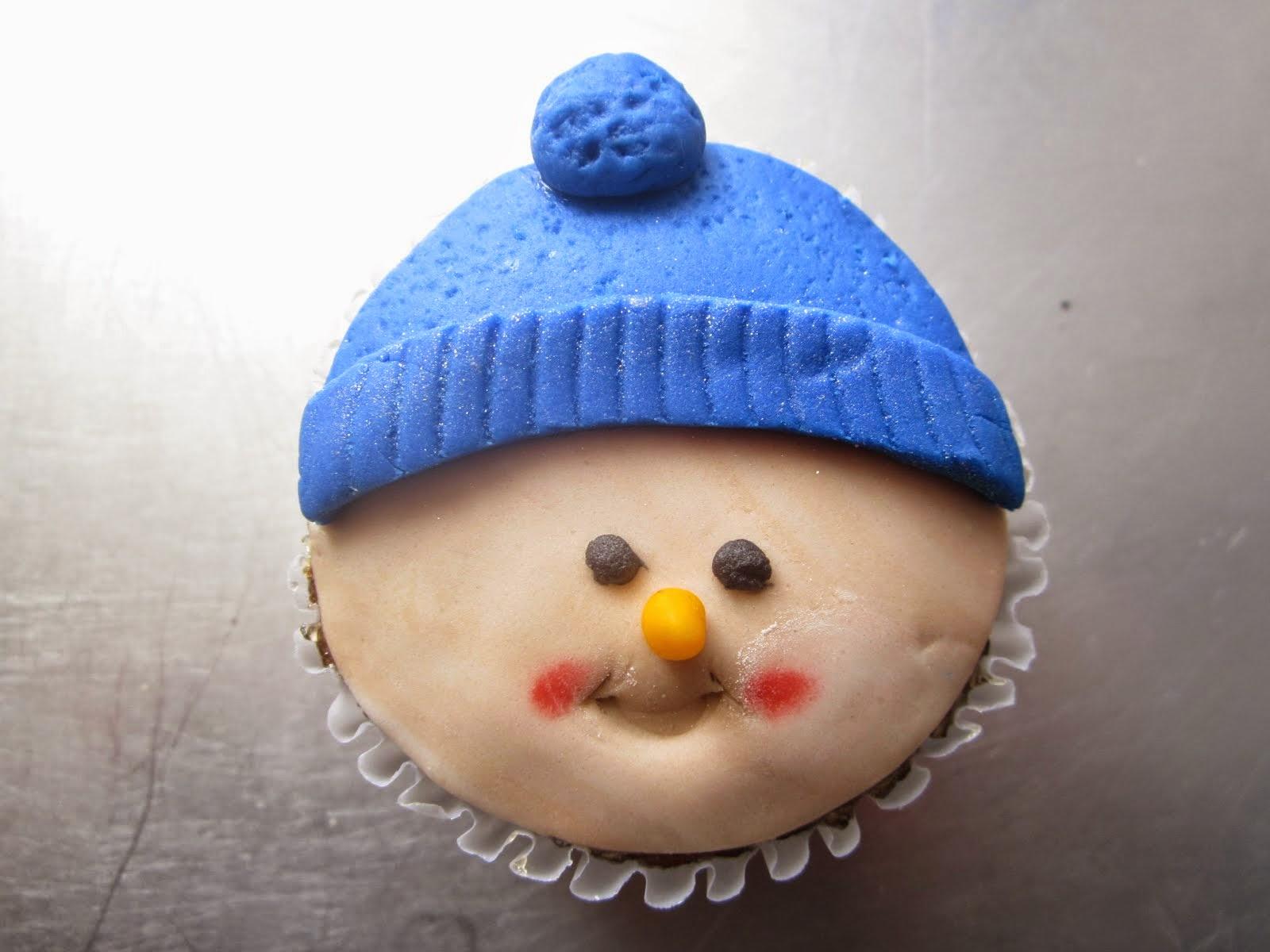 Cup Cake de invierno!