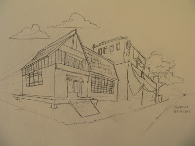 learn how to draw buildings