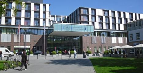 欧州最大の総合病院:  UKE at Hamburg University