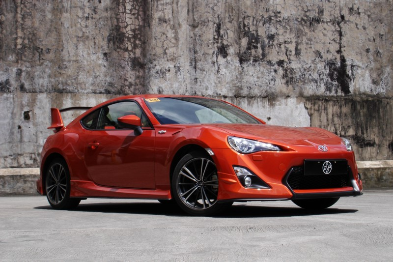 review 2012 toyota 86 aero philippine car news car. Black Bedroom Furniture Sets. Home Design Ideas
