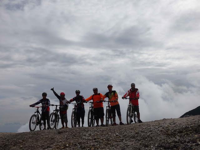 Gowes di Gunung Papandayan